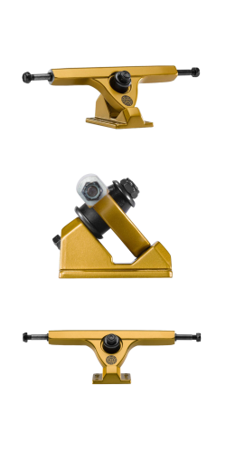 Caliber II FIFTY 50° 184mm satin gold ašys