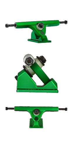 Caliber II FIFTY 50° 184mm satin green ašys