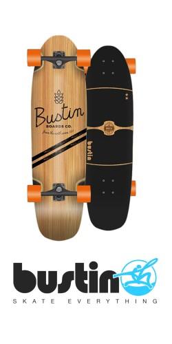 Bustin Modela - Bamboo X longboard komplektas