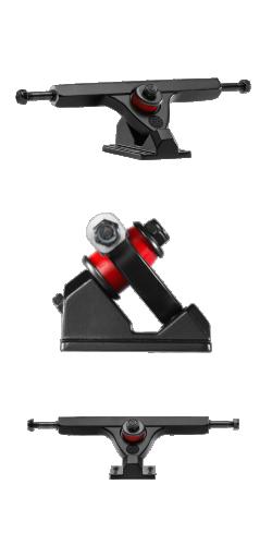 Caliber II FORTY-FOUR 44° 184mm black ašys