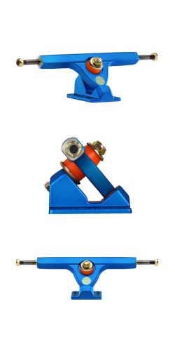 Caliber II FORTY-FOUR 44° 184mm satin blue ašys