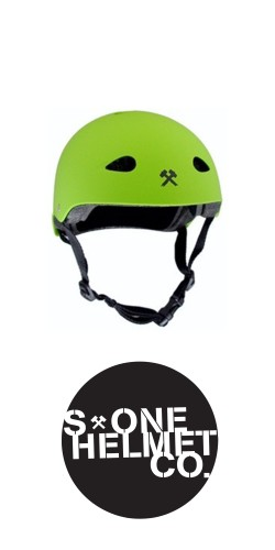 S-One The Kid Helmet Green šalmas